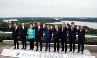 En Cumbre del G7 abogan por impulsar crecimiento económico y garantizar seguridad marítima