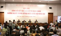 496 candidatos elegidos como diputados del Parlamento de Vietnam