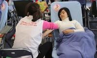 Más de 2 mil personas donan sangre en Nha Trang