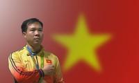 Hoang Xuan Vinh, ganador de la primera medalla olímpica de oro en la historia de Vietnam