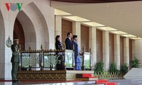 Presidente vietnamita se reúne con el sultán de Brunei