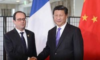 Presidente chino se reúne con mandatarios de Francia y Alemania