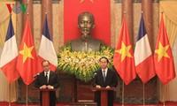 Vietnam y Francia acuerdan afianzar asociación estratégica