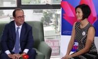 Visita del presidente francés brinda nuevo impulso a pequeñas y medianas empresas francovietnamitas