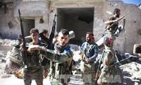 Ejército sirio avanza en territorio controlado por los rebeldes