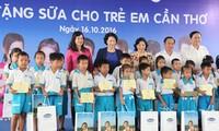 Actividades de apoyo a los niños en provincia sureña de Vietnam