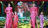 Festival de Ao Dai de Hanoi 2016 atrae gran afluencia de público