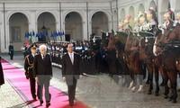 Vietnam e Italia determinados a profundizar Asociación Estratégica