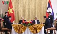 Vietnam y Laos estrechan relaciones multifacéticas especiales