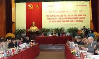Vietnam promueve el papel de agricultores en la reestructuración agraria