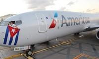 Realizado primer vuelo comercial oficial de Estados Unidos a Cuba