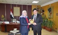 Vietnam y Egipto impulsan cooperación en radiodifusión