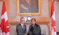 Vietnam y Canadá interesados en profundizar relaciones bilaterales