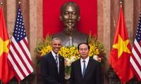 Hitos diplomáticos de Vietnam en relaciones con socios en 2016
