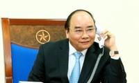 Primer ministro vietnamita dialoga con presidente electo de Estados Unidos