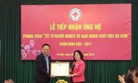 Continúan en Vietnam recaudaciones para apoyar a familias pobres y víctimas de la guerra
