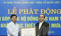 Piden más ayuda para afectados por desastre natural en Vietnam