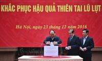 Realizan en Vietnam segunda recaudación para afectados por inundaciones