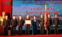 Provincia vietnamita de Hai Duong conmemora 20 años de su refundación
