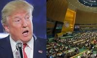 Trump calificó de ineficientes actividades de la ONU