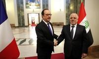 Francia apoya lucha contra Estado Islámico en Irak