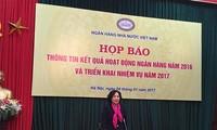 Exponen labor del Banco Estatal de Vietnam en 2016 y para 2017