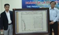 Da Nang recibe mapa antiguo confirmando la soberanía de Vietnam sobre Hoang Sa
