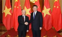 Dirigente partidista vietnamita agradece al líder chino tras finalizar visita oficial a ese país