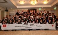Celebran intercambio de representantes juveniles Vietnam-Japón