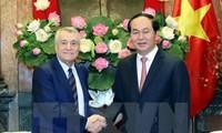 Presidente vietnamita recibe a ministro azerbaiyano de Energía