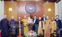Comprometida Sangha Budista en acompañar a la nación hacia el desarrollo