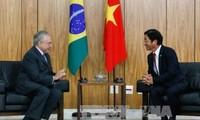 Vietnam y Brasil estrechan relaciones