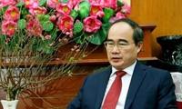 Piden potenciar la fuerza de la unidad del pueblo vietnamita para el desarrollo nacional