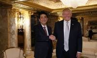 Trump reafirma compromiso de Estados Unidos con protección de seguridad de Japón