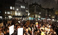 Protestan en Reino Unido contra decreto migratorio de Trump