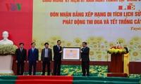 Reconocen otro patrimonio nacional especial de provincia norvietnamita de Tuyen Quang