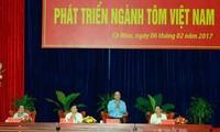 Industria camaronera proyecta ser sector clave de la agricultura vietnamita