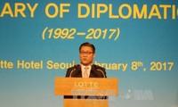 Vietnam y Corea del Sur revisan 25 años de relacionas diplomáticas