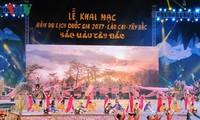 Inauguran Año Nacional del Turismo 2017 en Lao Cai