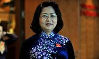 Vicepresidenta vietnamita realiza visita de trabajo a Hai Duong