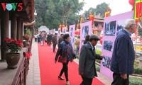 Día de la Poesía de Vietnam, en el Templo de la Literatura, en Hanoi