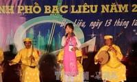 Inauguran Festival de Don Ca Tai Tu en Long An
