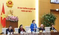 Anuncia Comité Permanente del Parlamento vietnamita agenda de su próxima sesión