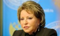 Presidenta del Consejo de la Federación de Rusia visita Vietnam