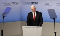Gira de Mike Pence calma a los socios europeos
