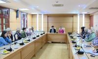 Vietnam y Estados Unidos abogan por impulsar asociación integral e intercambio popular