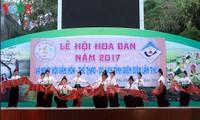 Inaugurado Festival de la Flor de Bauhinia 2017 en ciudad nórdica de Vietnam