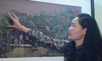 Tran Thanh Thuc y su amor por las pinturas de tela
