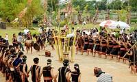 Celebración de la nueva cosecha de la etnia Gie Trieng