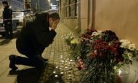 Comunidad internacional expresa solidaridad con Rusia tras el atentado terrorista en San Petersburgo